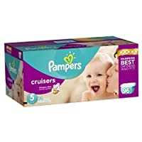 Pampers Cruisers Disposable Diapers Size 5, 96 Count, GIANT