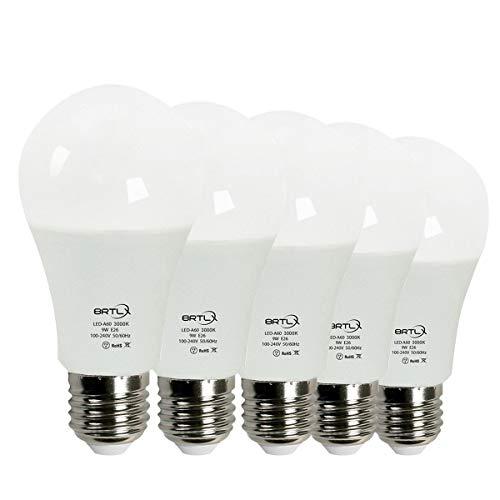 BRTLX LED電球 E26口金 60W形相当 9W 電球...