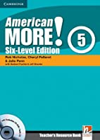 American More! Six-Level Edition Level 5 Teacher's Resource Book with Testbuilder Audio CD/CD-ROM.