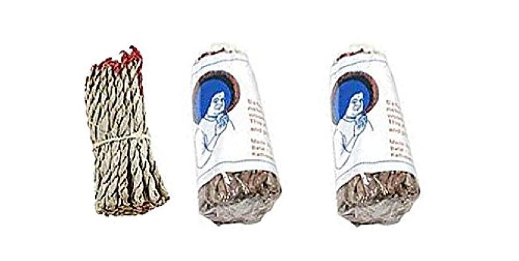 公使館世代ジャンクションサイ・ナグ・チャンパ・ドープ ロープ型お香 ホワイト