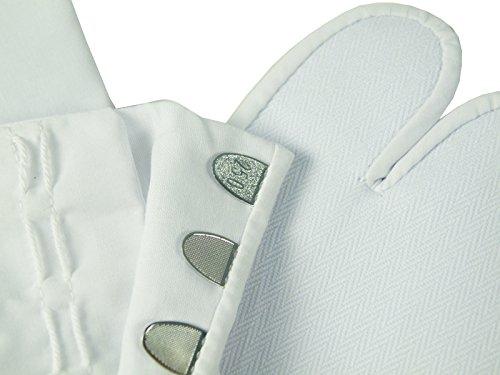 ブロード足袋(白) 4枚コハゼ (23.5)