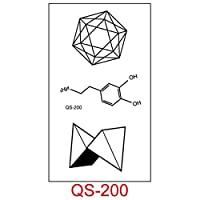 タトゥーステッカー英語猫五ta星ダイヤモンド原宿人格かわいいタトゥーステッカー男性と女性Qs-200-カラフルなQs-200