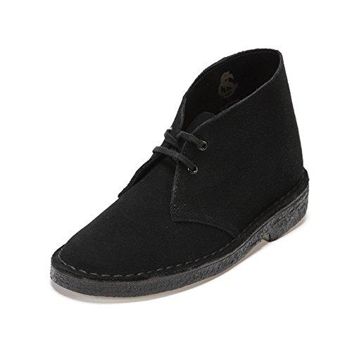 [クラークス] Clarks デザートブーツ. 26107162 Black Suede (ブラックスエード/040)
