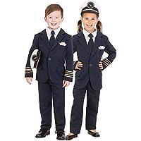 Qantas Pilot Kids Costume Size 6-8