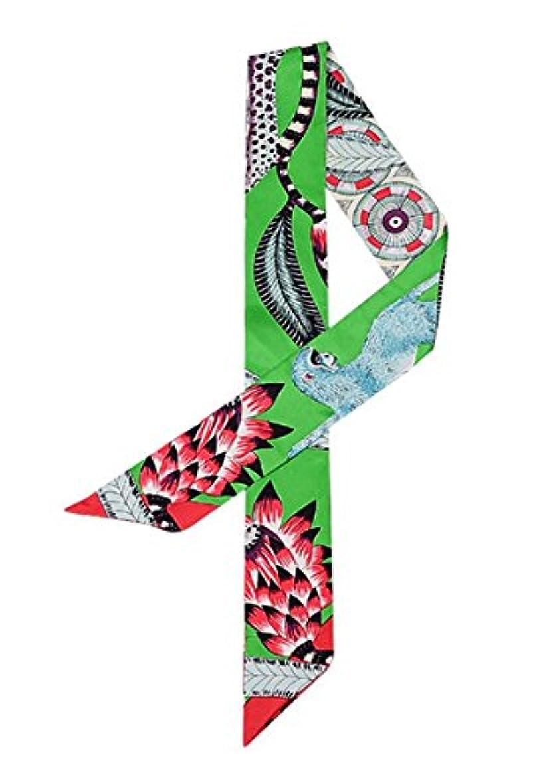 ヒップ胚オプショナルXiang Ru バッグ用スカーフ アクセサリー ツイリー 多機能 飾り小物 リボン プリント