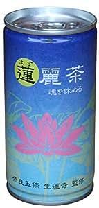 はす茶 蓮麗茶 ノンカフェイン 185g×30本