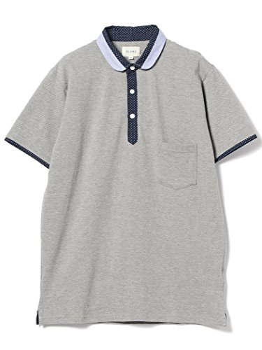 (ビームス) BEAMS/ショールカラー 切替 ポロシャツ 11020292823