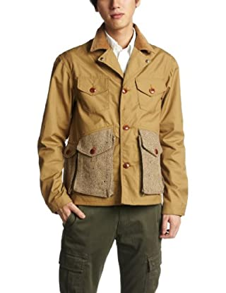 Fisherman Jacket SN-12FW-23: Camel