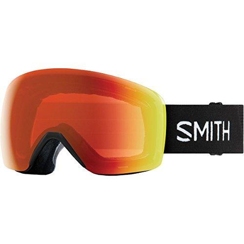 18-19 SMITH (スミス) ゴーグル SKYLINE BLACK (EVERYDAY RED) スカイライン アジアンフィット ジャパンフィット スノーボード スキー
