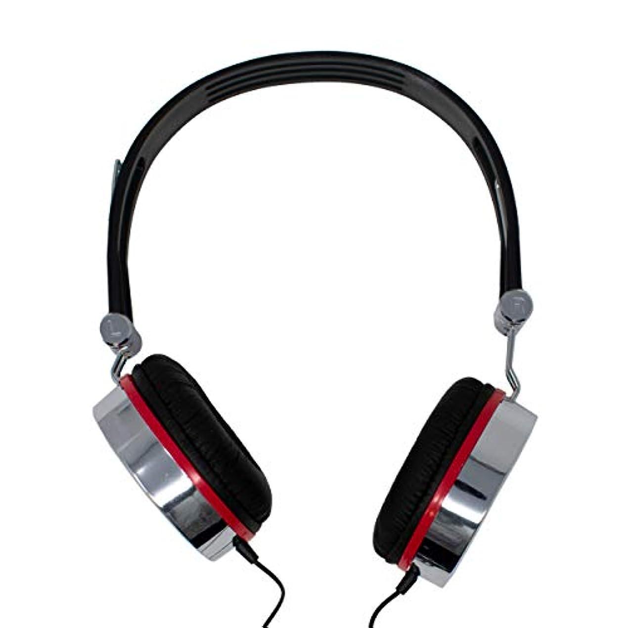 演劇石灰岩マイク付きヘッドセットオーバーヘッドヘッドフォン(2x 3.5mmジャックプラグ)iCHOOSE®製PC、ラップトップ、Skype、MP3 /オーディオアクセサリ用のインラインマイクヘッドセット