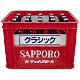 SAPPORO サッポロクラシック 大瓶 633ml 20入 1ケース