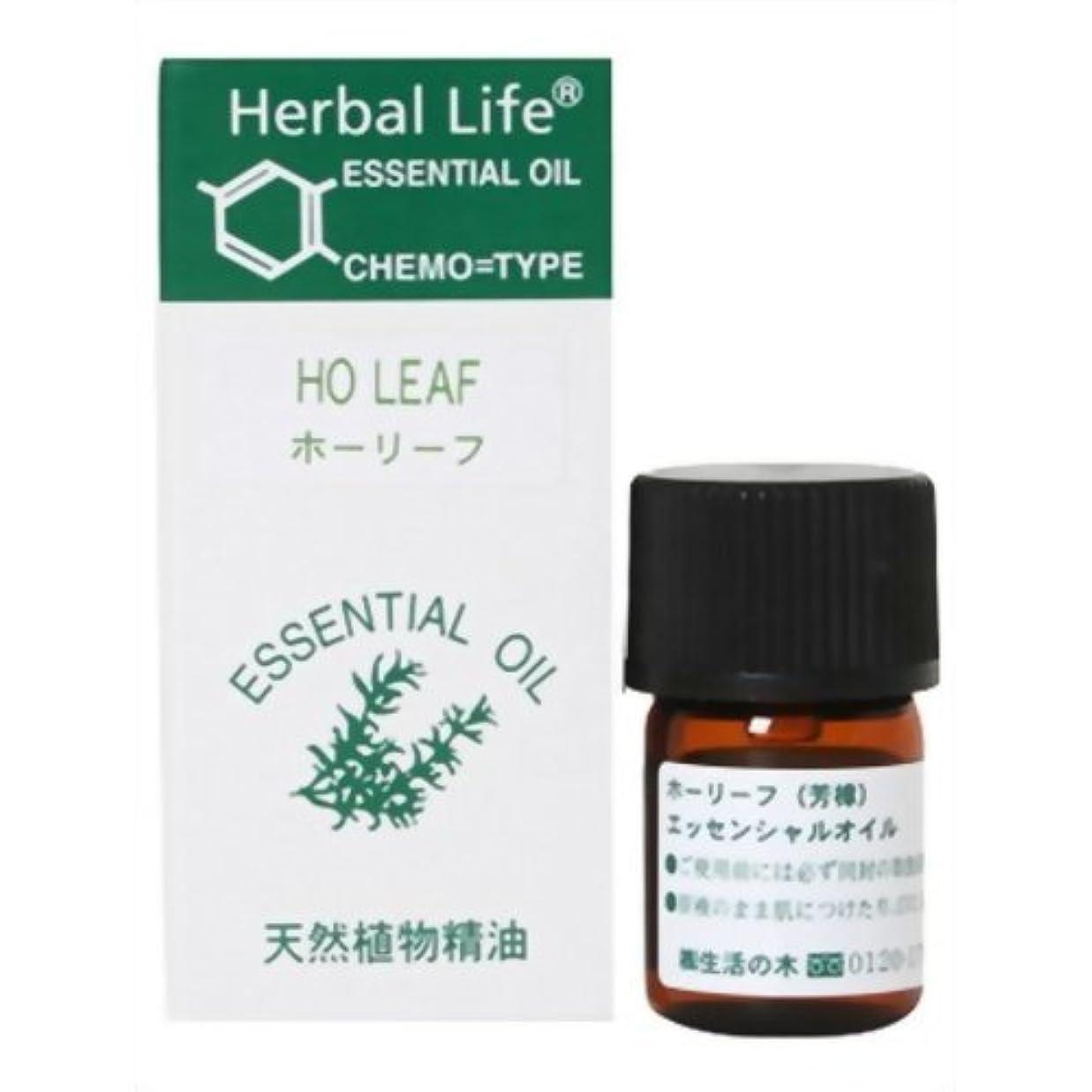 遺産最高単調な生活の木 Herbal Life ホーリーフ 3ml