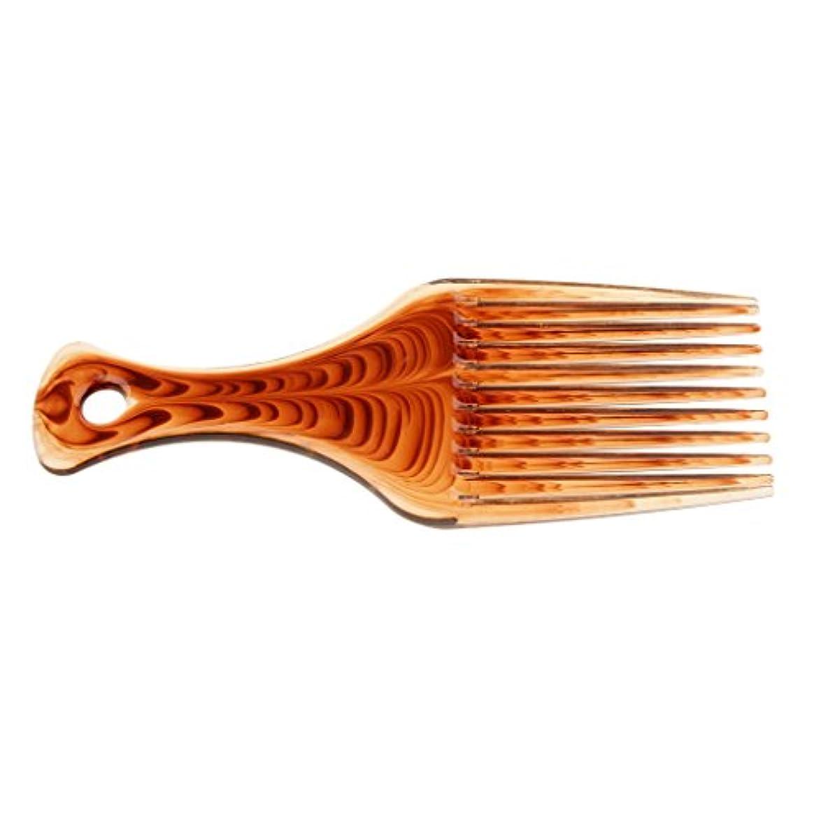実施する変化する植物学者ヘアブラシ 髪の櫛 プラスチック製 サロン バリバー アフロ ヘアピック ブラシ 櫛