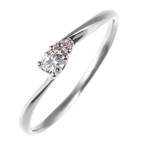 ダイヤモンド リング プラチナ ピンク ダイヤ レディース 指輪 婚約指輪 エンゲージリング プロポーズ ブランド