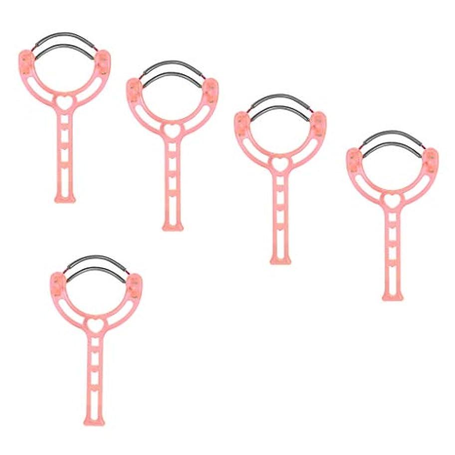 フラッシュのように素早く同等のシェルPerfeclan 5本 フェイシャルヘアリムーバー 手動脱毛器 ビューティー リムーバー ローラー