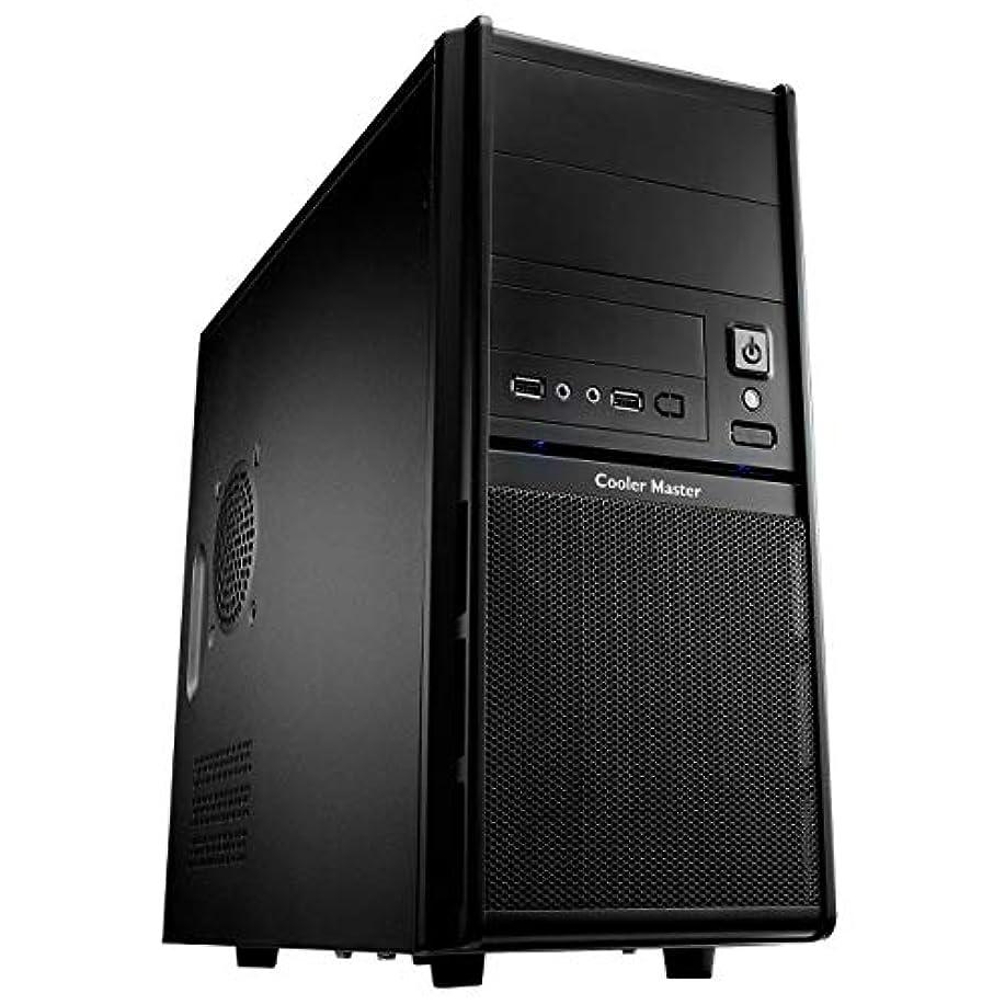 面不定ジャンプするCooler Master RC342KKR400U3 Elite RC-342 コンピューターケース ブラック (認定整備済み)
