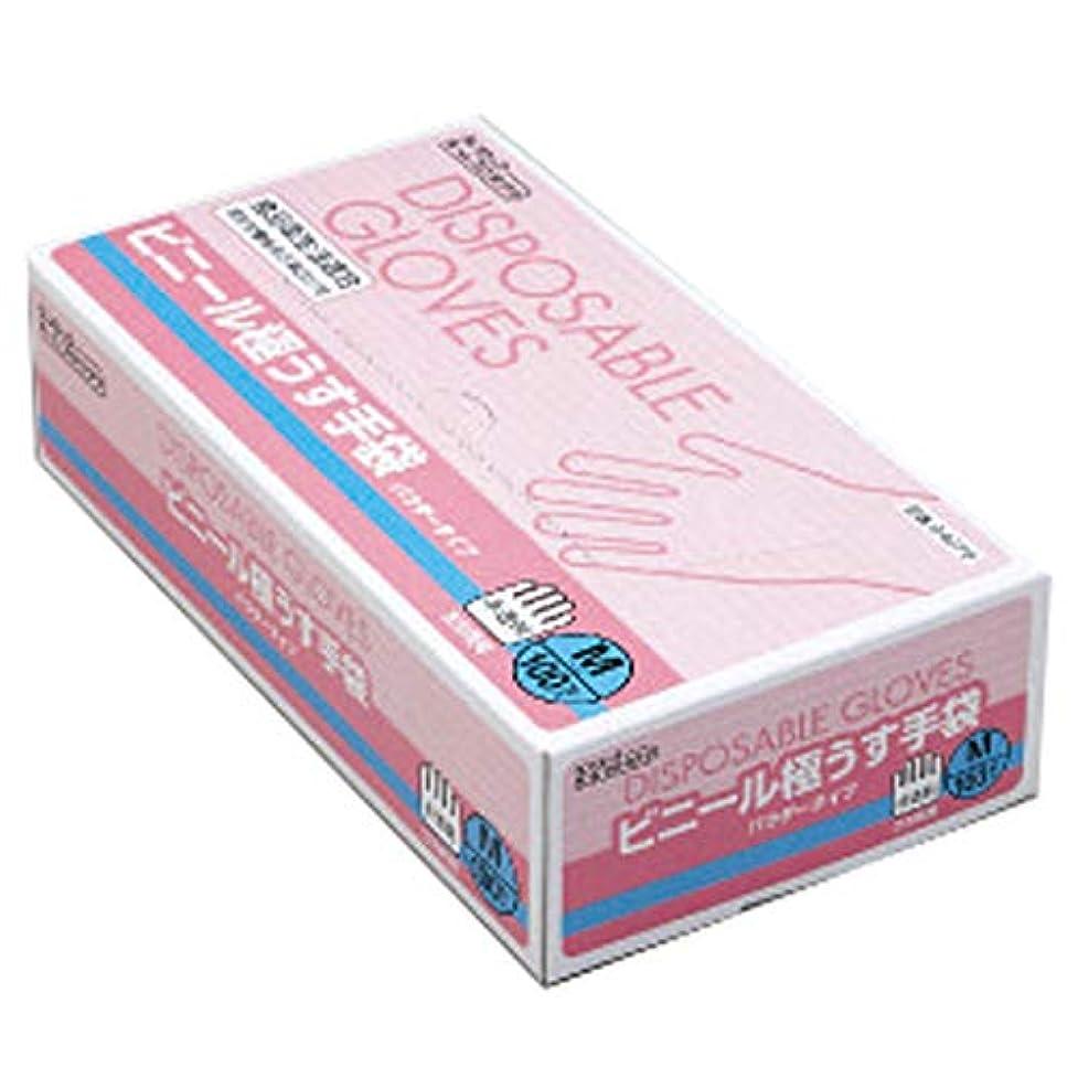 ダンロップ ホームプロダクツ ビニール手袋 極薄 パウダータイプ 半透明 M 食品加工 油作業 お掃除 ペットの手入れ 介護 料理  100枚入