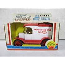 Ertl 1913 Ford Model T Delivery with Locking Bank Across the USA it's IGA 1:25 Scale by IGA [並行輸入品]