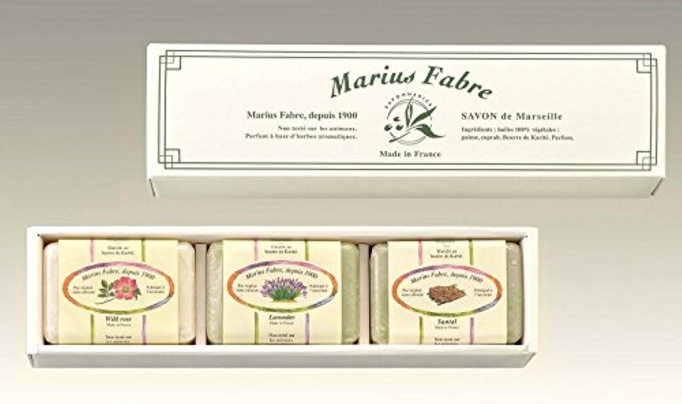 白鳥構造的買い物に行くマリウスファーブル社 サボンドマルセイユ マルセイユ石けん SAN 150g×3