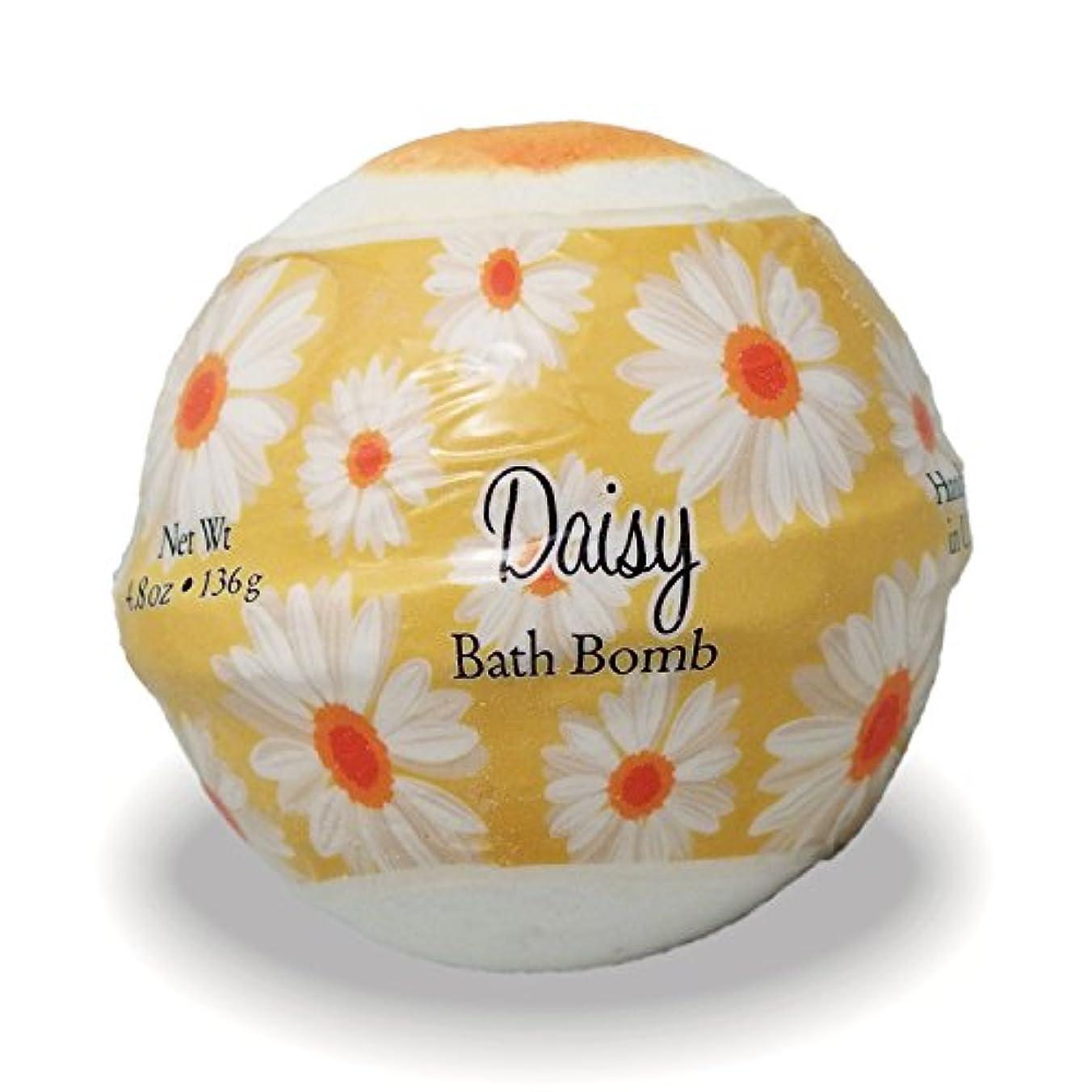 プライモールエレメンツ バスボム/デイジー 136g シアバターとココナツ&アルガンオイル配合のお肌に潤いを与える発泡性入浴剤
