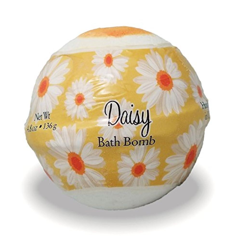 美的深く夏プライモールエレメンツ バスボム/デイジー 136g シアバターとココナツ&アルガンオイル配合のお肌に潤いを与える発泡性入浴剤