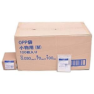 伊藤忠リーテイルリンク OPP袋 シール無 小物用(M) 100枚入x300パック