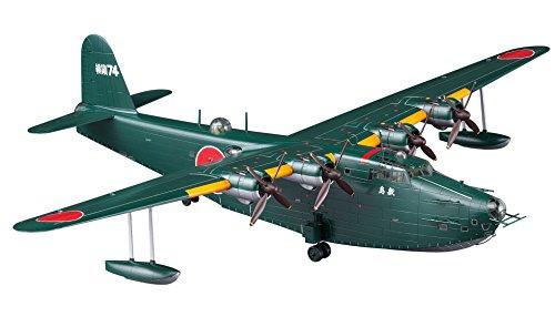 Hasegawa 1/72 Japan Navy Kawanishi H8K1 Ki-large flying boat type 11 senior transport machine Shikishima plastic 02273