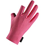 Anti-Slip Fishing Gloves for Men Water Resistant Skidproof 3 Fingers Windproof Fishing Hunting Riding Cycling Outdoor Sports