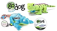 Quaker GoDog Chew Guard Technology Dog Toy Set Jumbo [並行輸入品]