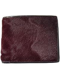 ポールスミス Paul Smith 財布 メンズ ボルドー/ブラック ハラコ U98180 新品正規品