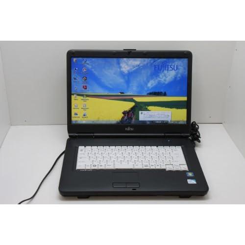 中古パソコン【Win 7 Pro】 富士通 LIFEBOOK A8290  Intel Celeron 900 2.20GHz RAM 2GB HDD160GB CD-ROM/DVD-ROM