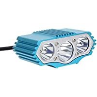 Zhaozhe自転車ライト usb充電式 ヘッドライト 懐中電灯 LED 高輝度 4段階切替 200~300メートル照射 ハンドル取り付け型