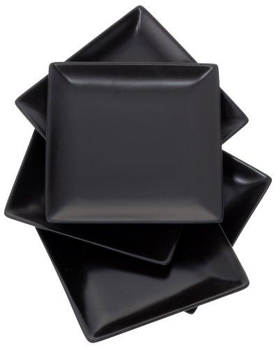エムズスタイル ブラックスクエアープレートXS ファミリーセット MS-90056