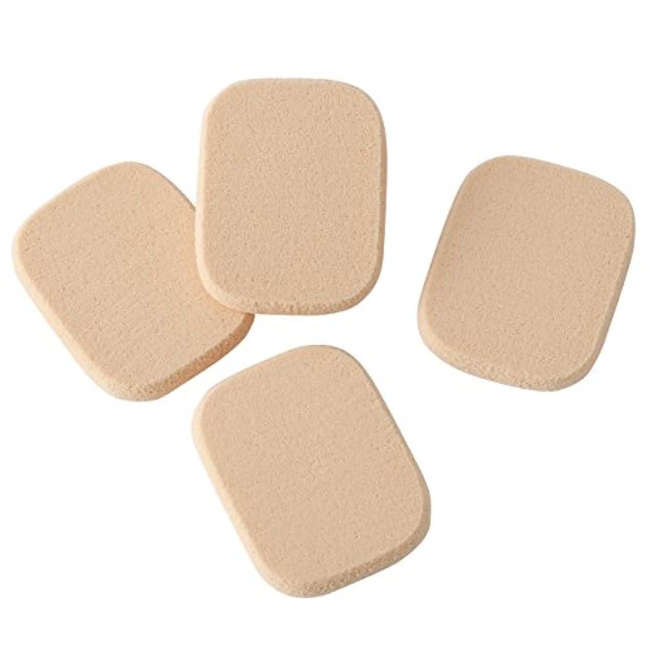 手がかり反映する安心させる無印良品 スポンジパフ 4個入 日本製