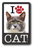 PET-13 I LOVE CAT!ステッカー13 ステッカー 猫好きの方に!