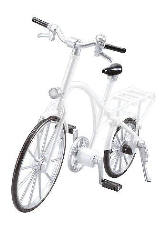 figma用 ex:ride ride.002 クラッシック自転車 人気色のパールホワイト (1/12 フリーイング,CLASSIC BICYCLE)