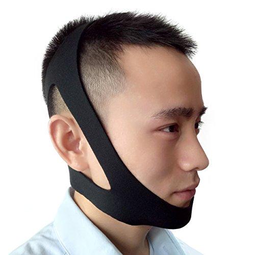 HomySnug いびき防止 サポーター 顎固定サポーター 簡単脱着 無呼吸症候群 口呼吸 顎関節症 などの改善・予防に 快適な眠りへ