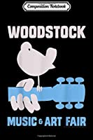 Composition Notebook: Woodstock - Music & Arts  Journal/Notebook Blank Lined Ruled 6x9 100 Pages