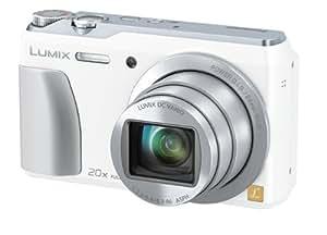パナソニック デジタルカメラ ルミックス TZ55 光学20倍 ホワイト DMC-TZ55-W