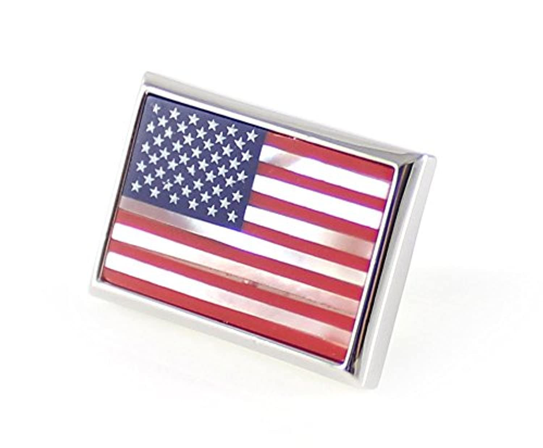 mendepotメンズファッションクラシックアメリカ国旗ラペルピンストーンアメリカ国旗ラペルピン( 1pc )