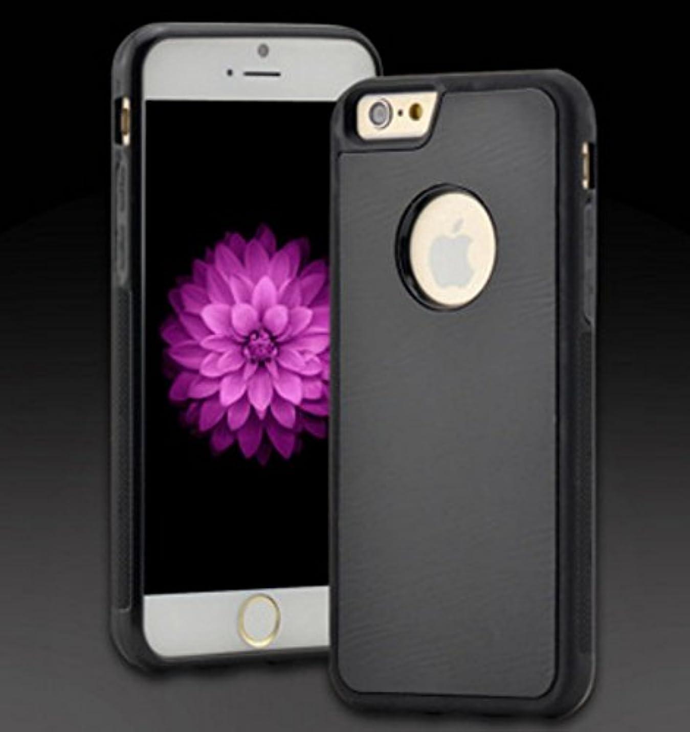浸食によると接触[ARTASY WORKSHOP®][並行輸入品] iPhone 6S / 6S Plus / iPhone 7 / 7 Plus 対応 滑らかな表面に吸着できる 反重力ケース 4色 ソフトケース 吸着型 アイフォン7 高耐久性 安全 便利 Anti-Gravity Phone Case (iPhone 7, ブラック)