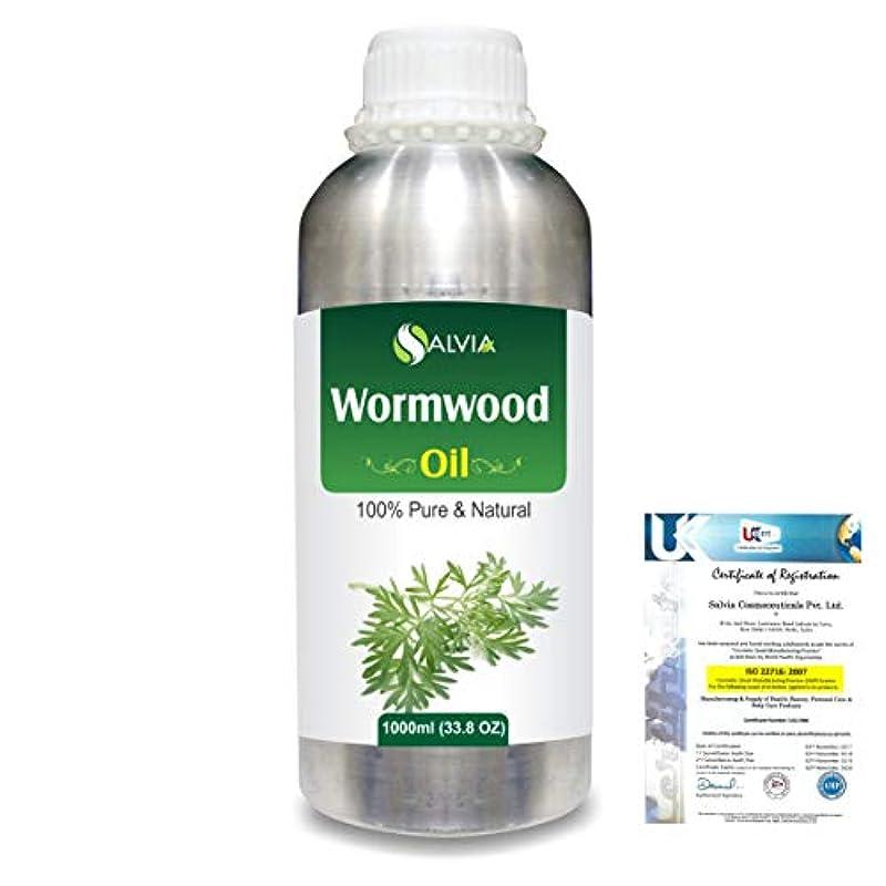 アカデミー大人いちゃつくWormwood (Artemisia absinthium) 100% Natural Pure Essential Oil 1000ml/33.8fl.oz.