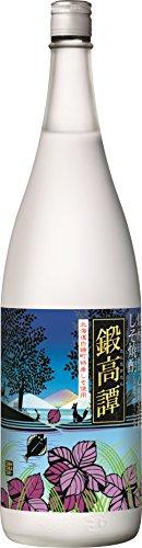 合同酒精 しそ焼酎 鍛高譚 瓶 1800ml