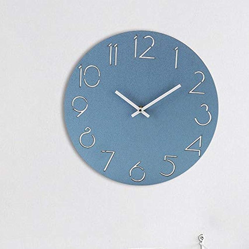 せせらぎ症候群塗抹壁掛け時計12