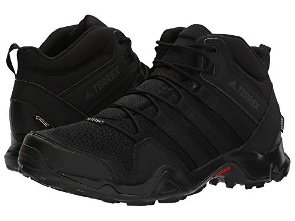 快適電気的保存(アディダス) adidas メンズブーツ?靴 Terrex AX2R Mid GTX Black/Black/Black 10.5 (28.5cm) D - Medium