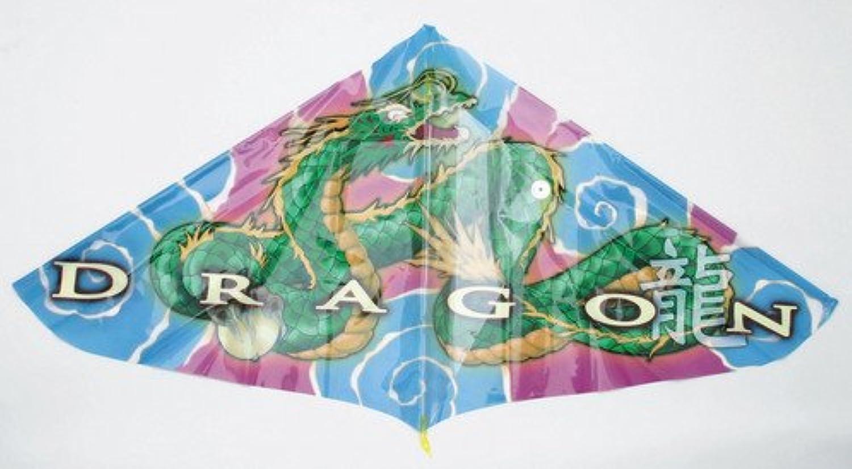 カイト Lサイズ! ドラゴンカイト 巾1m以上の迫力?