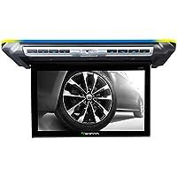 Eonon フリップダウンモニター (L0151) リアモニター 10.1インチ 超薄型 天井型モニター 車用 ドームライト連動 空気清浄機能 ボタンバックライト7色 デジタルスクリーン