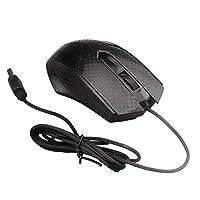 KESOTO 多機能 MAIKOU 1000dpi USB有線 高速 光マウス マイクコンピュータ ゲーム用