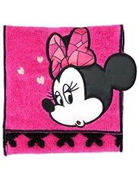 ANNA SUI 東京ディズニーリゾート限定 アナスイプロデュース ミニー柄 ポケットタオル ピンク おみやげ