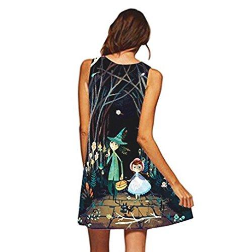 f880f701bcaf7 BAO8 ドレス 母の日のプレゼント人気 プリントワンピース Aラインドレス ひざ丈スカート